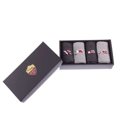 5153 | AS Roma Casual Socks Box Set | 2 | COPA