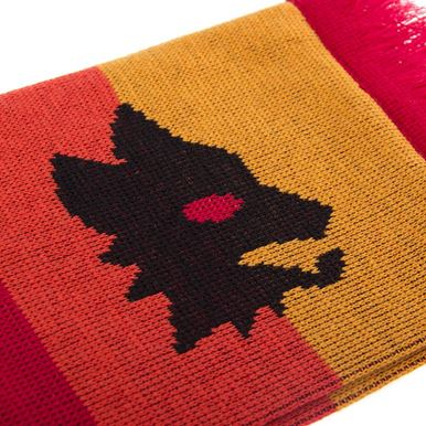 5042 | AS Roma Retro Scarf | 2 | COPA