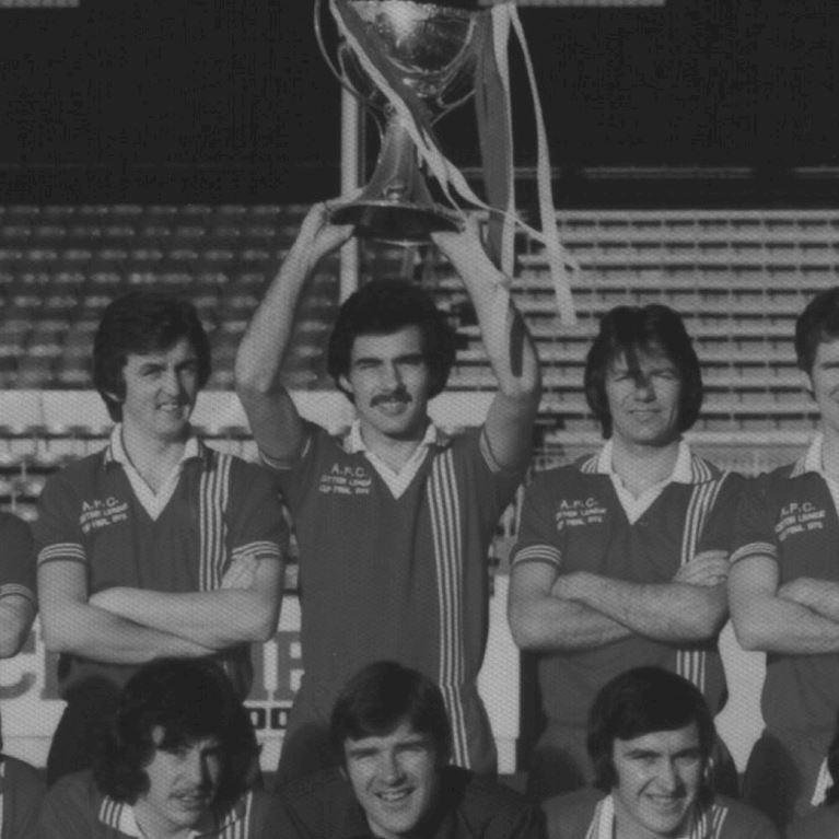 766 | Aberdeen FC 1976 - 1977 League Cup Final Short Sleeve Retro Football Shirt | 2 | COPA