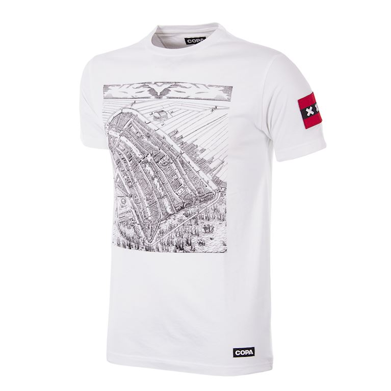 6900 | Amsterdam City Map T-Shirt | 1 | COPA