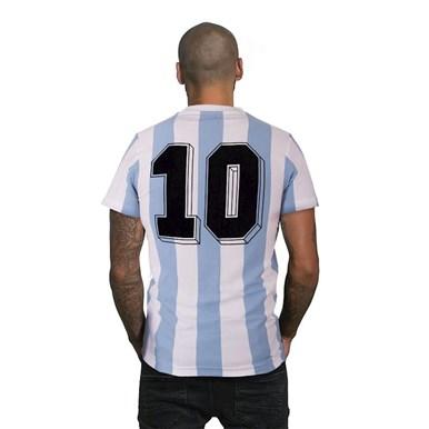 6745 | Argentina 1982 V-neck T-Shirt | 2 | COPA