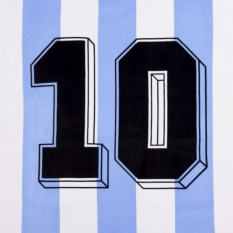6987 | Argentina Number 10 T-Shirt | 2 | COPA