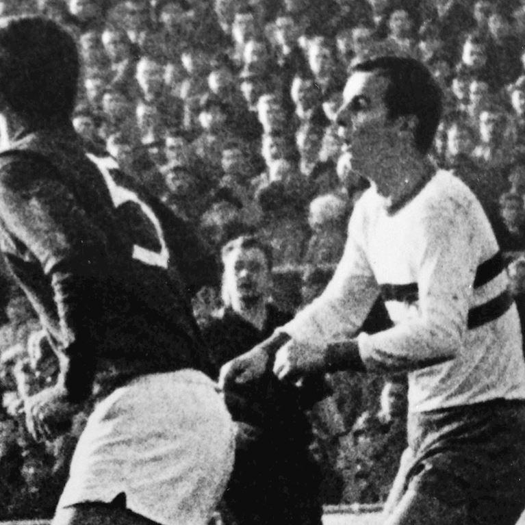 768 | Arminia Bielefeld 1963 Short Sleeve Retro Football Shirt | 2 | COPA