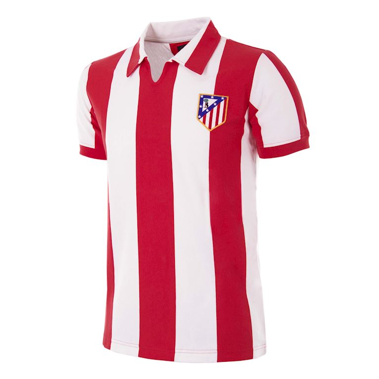 277 | Atletico de Madrid 1970 - 71 Retro Voetbal Shirt | 1 | COPA