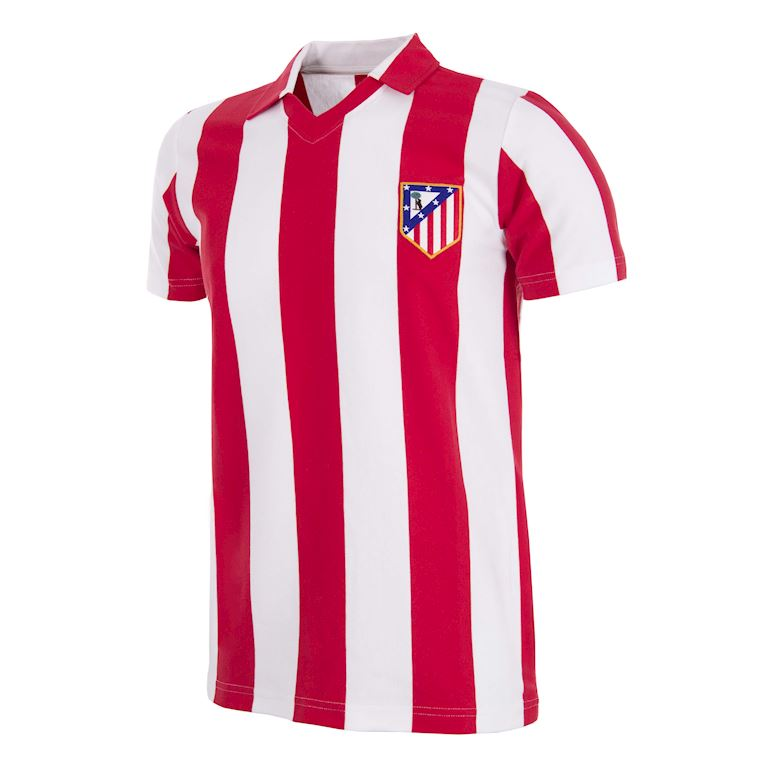 278 | Atletico de Madrid 1985 - 86 Retro Voetbal Shirt | 1 | COPA