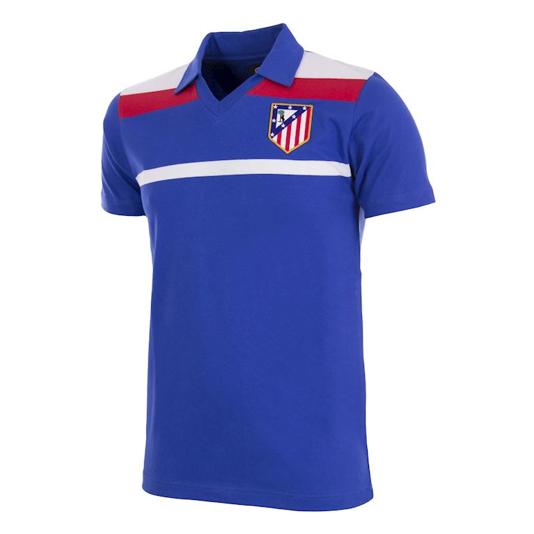 279 | Atletico de Madrid 1986 Third Maillot de Foot Rétro | 1 | COPA