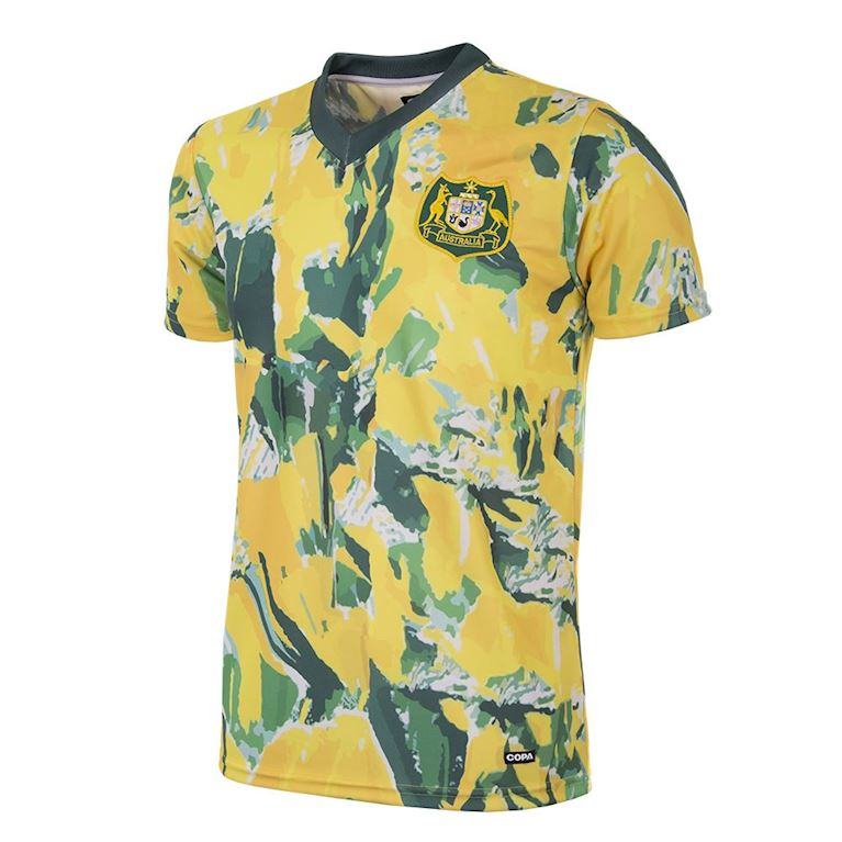 212 | Australia 1990 - 93 Short Sleeve Retro Football Shirt | 1 | COPA