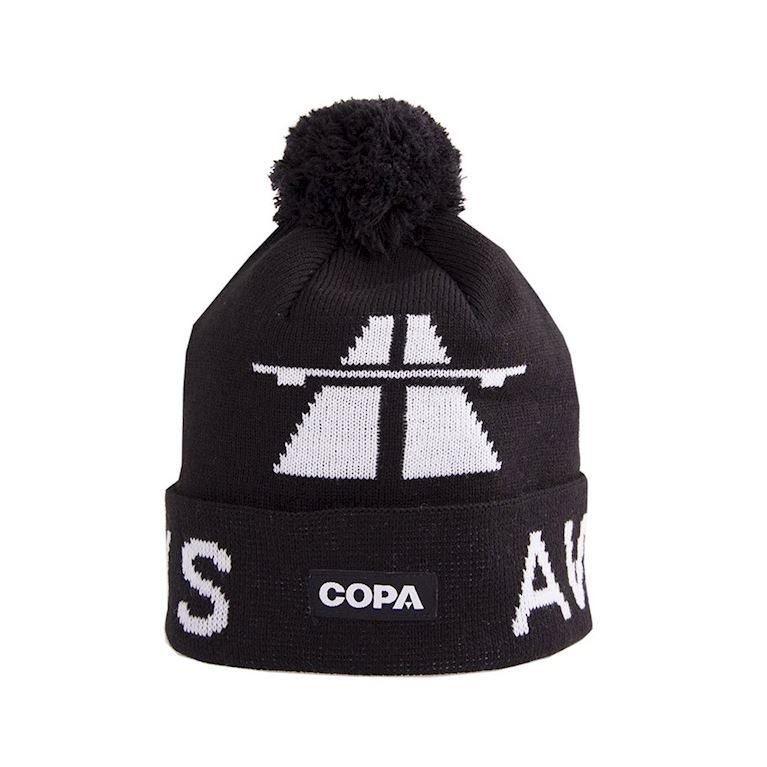 5012 | Away Days Beanie | Black-White | 1 | COPA
