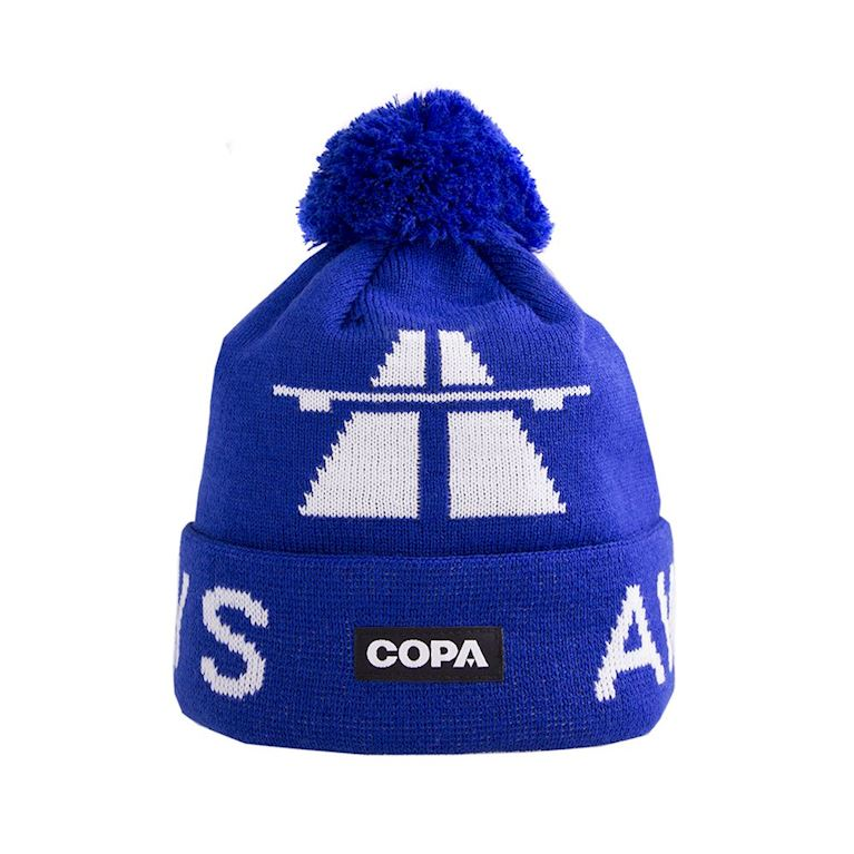 5013 | Away Days Beanie | Blue-White | 1 | COPA
