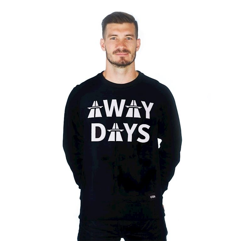 6459 | Away Days Sweater | Black | 1 | COPA