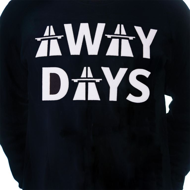6459 | Away Days Sweater | Black | 2 | COPA