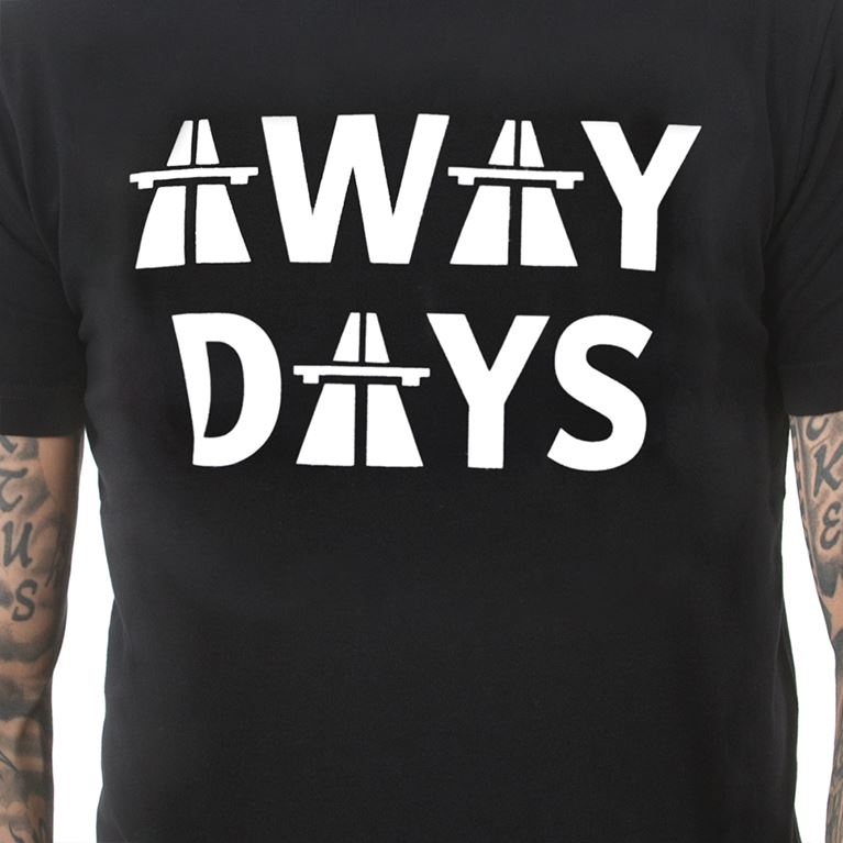 6728 | Away Days T-Shirt | Black | 2 | COPA