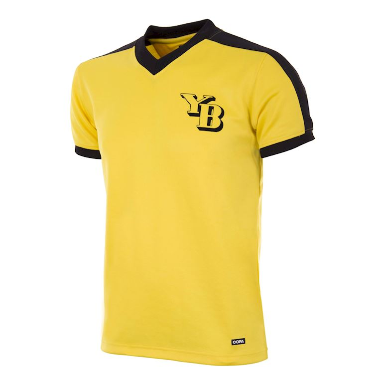 308 | BSC Young Boys 1975 - 76 Retro Football Shirt | 1 | COPA