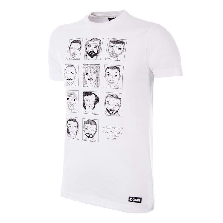 6778 | Badly Drawn Footballers T-Shirt | 1 | COPA