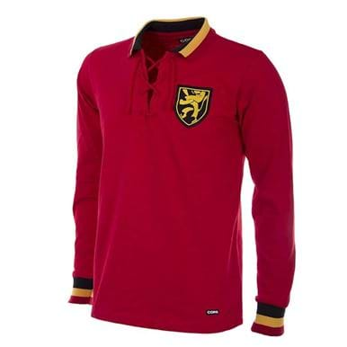 214 | Belgium 1954 Retro Football Shirt | 1 | COPA