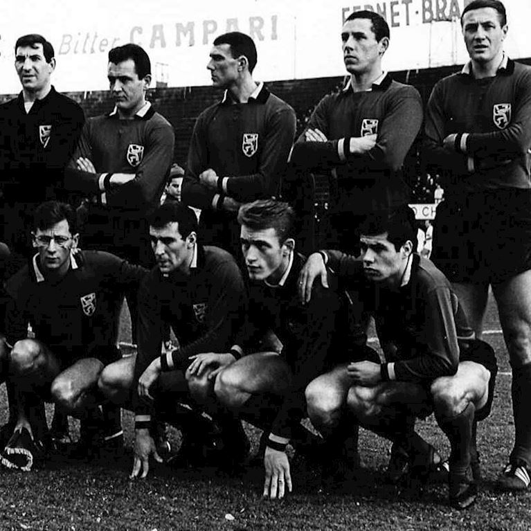 654 | Belgium 1960's Long Sleeve Retro Football Shirt | 2 | COPA