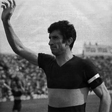 587 | Boca Juniors 1960's Retro Football Shirt | 2 | COPA
