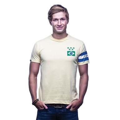 6553 | Brazil Captain T-Shirt | 1 | COPA