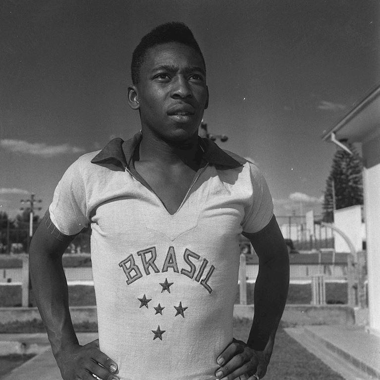 412 | Brazil 1960's Short Sleeve Retro Football Shirt | 2 | COPA