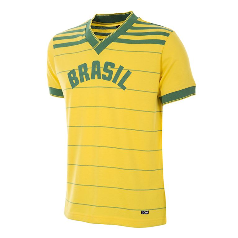 295 | Brésil 1984 Maillot de Foot Rétro | 1 | COPA