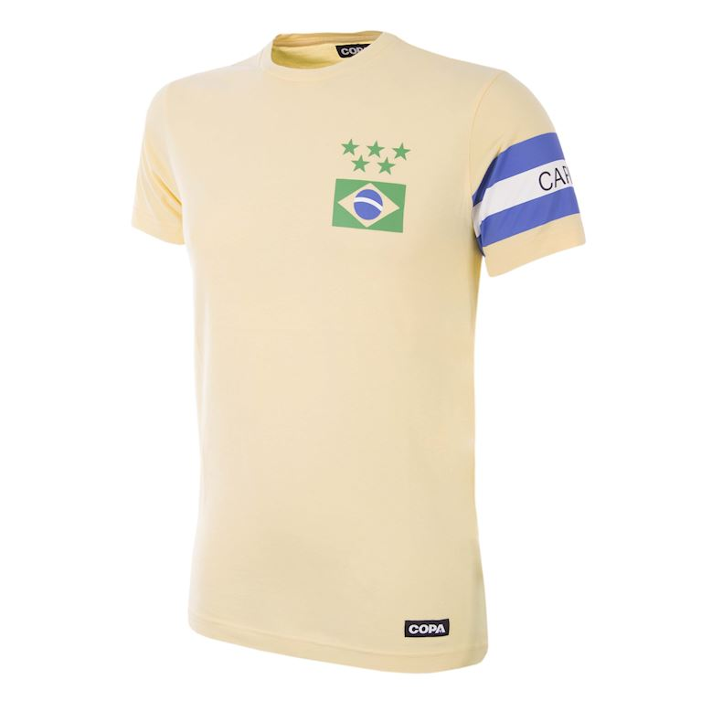 6553 | Brazil Captain T-Shirt | 1 | COPA