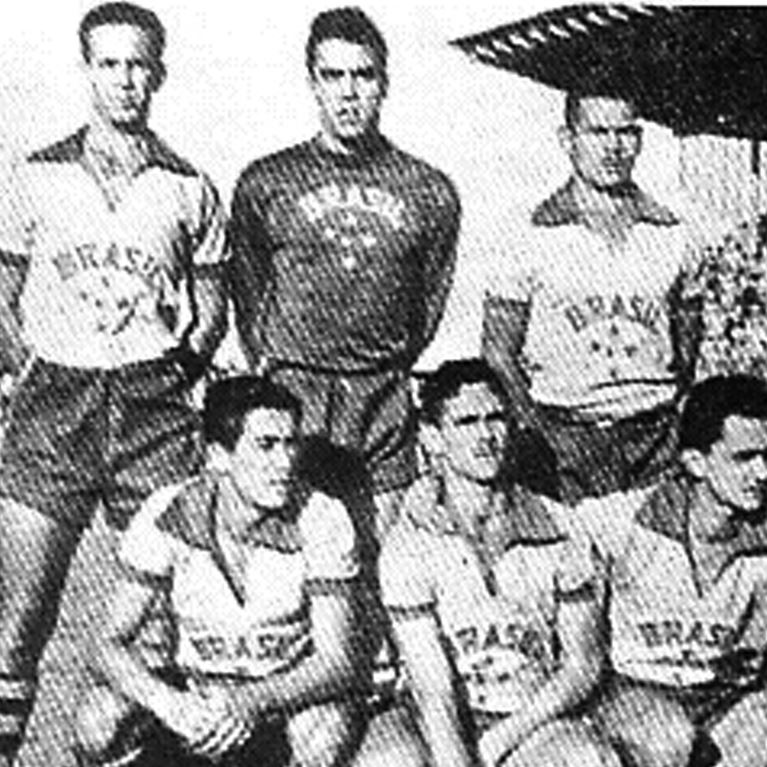 453 | Brazil Keeper 1960's Long Sleeve Retro Football Shirt | 2 | COPA