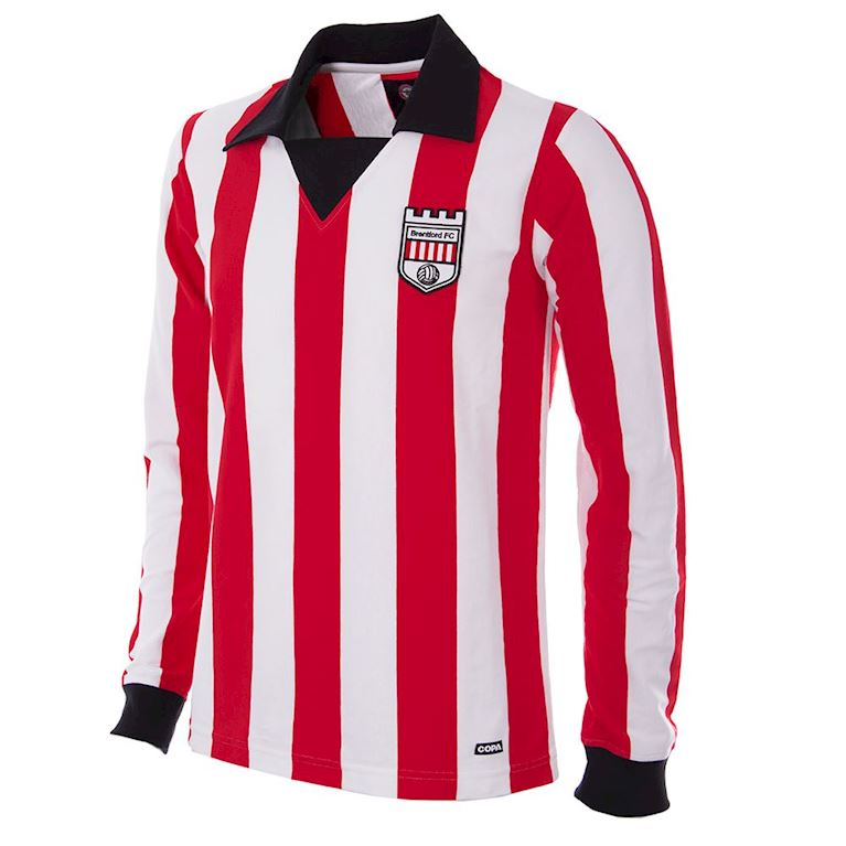 741 | Brentford FC 1974 - 75 Long Sleeve Retro Football Shirt | 1 | COPA