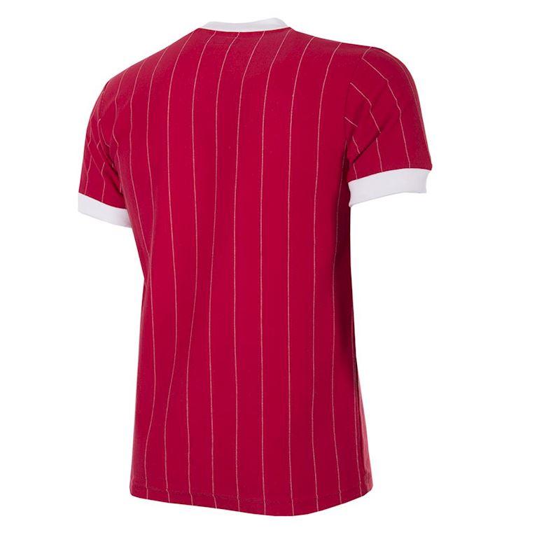 Medium Red Copa Mens Cccp 1980s Short Sleeve Retro Football Shirt