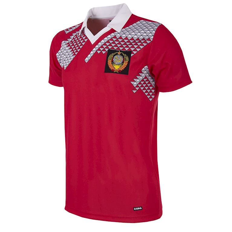 215 | CCCP 1990 World Cup Short Sleeve Retro Football Shirt | 1 | COPA