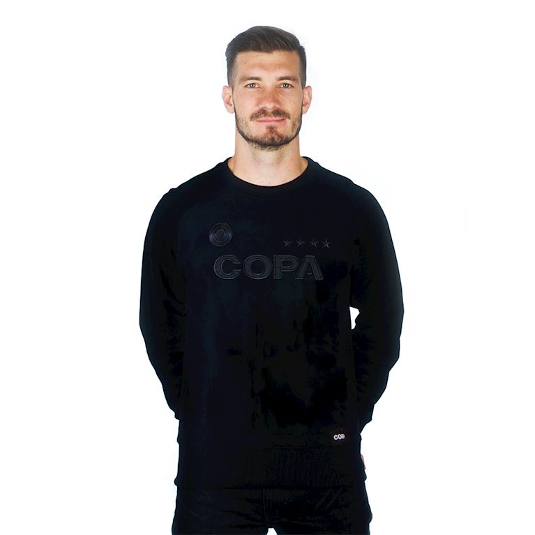 6460 | COPA All Black Logo Sweat | 1 | COPA