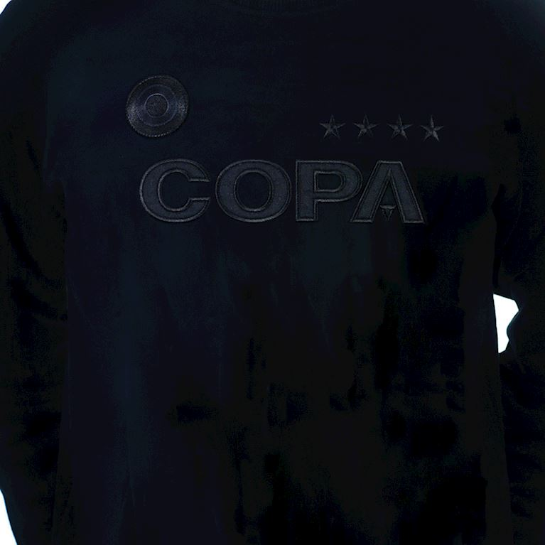 6460 | COPA All Black Logo Sweat | 2 | COPA