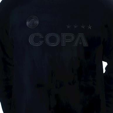 6460.1 | COPA All Black Logo Sweater | 2 | COPA