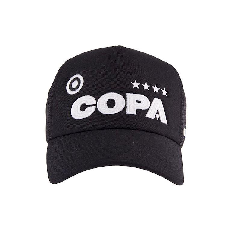 5205 | COPA Campioni Black Trucker Cap | 2 | COPA