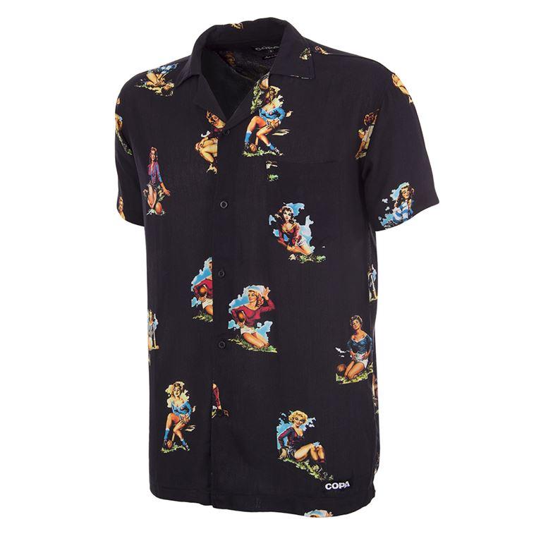 6990 | Calcio Donna Camp Collar Shirt | 1 | COPA