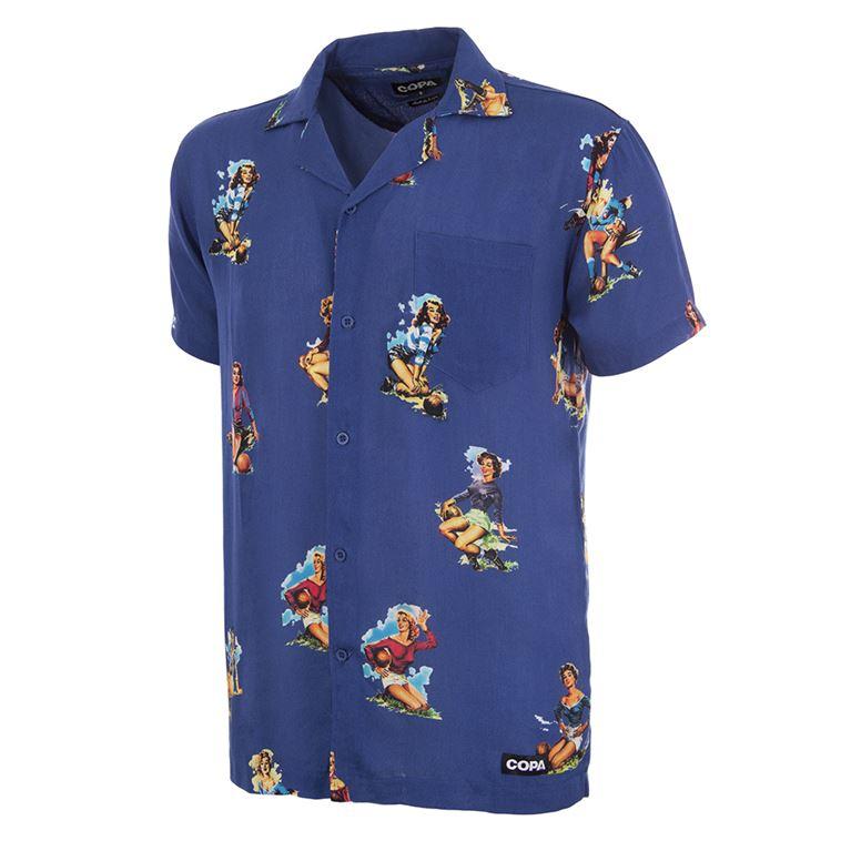 6989 | Calcio Donna Camp Collar Shirt | 1 | COPA