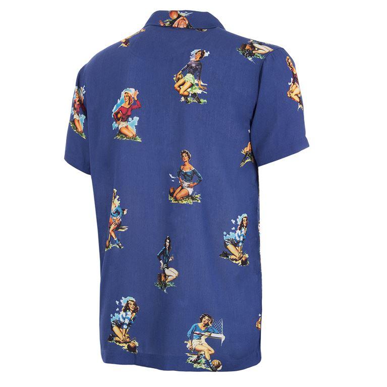 6989 | Calcio Donna Camp Collar Shirt | 2 | COPA