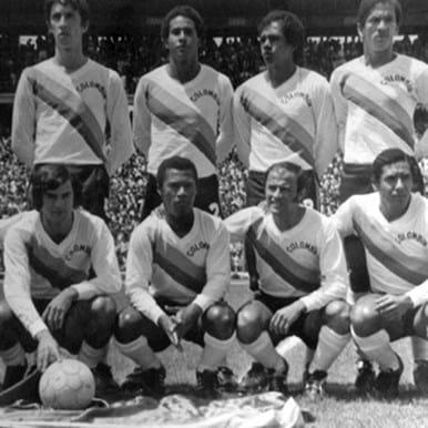 586 | Colombia 1973 Retro Football Shirt | 2 | COPA