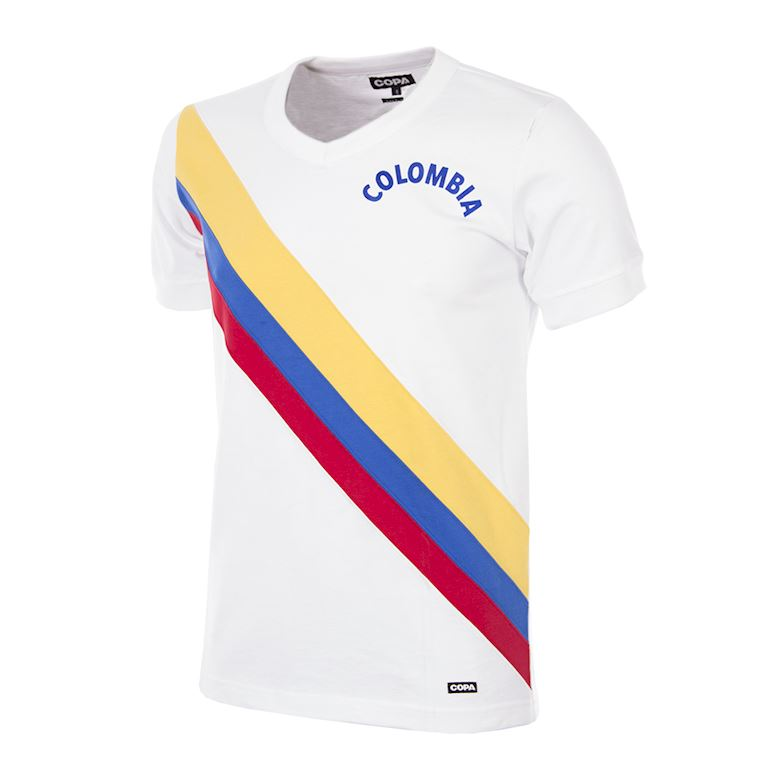 258 | Colombia 1973 Retro Football Shirt | 1 | COPA