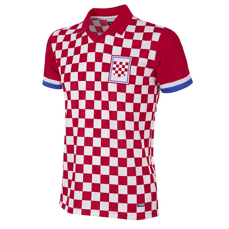 235 | Croatia 1992 Short Sleeve Retro Football Shirt | 1 | COPA