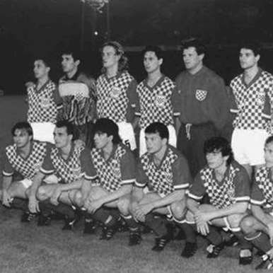 235 | Croatia 1992 Retro Football Shirt | 2 | COPA
