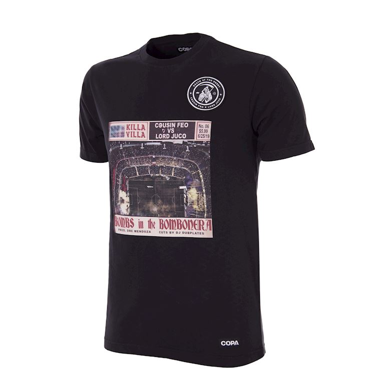 6932 | Death at the Derby - Bombs in the Bombonera T-Shirt | 1 | COPA
