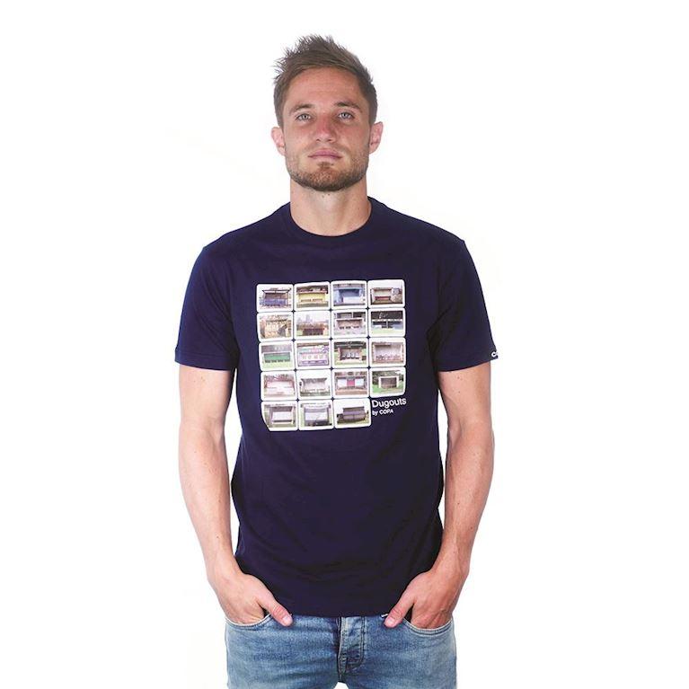 6695 | Dugouts T-Shirt | Marine Blue | 1 | COPA