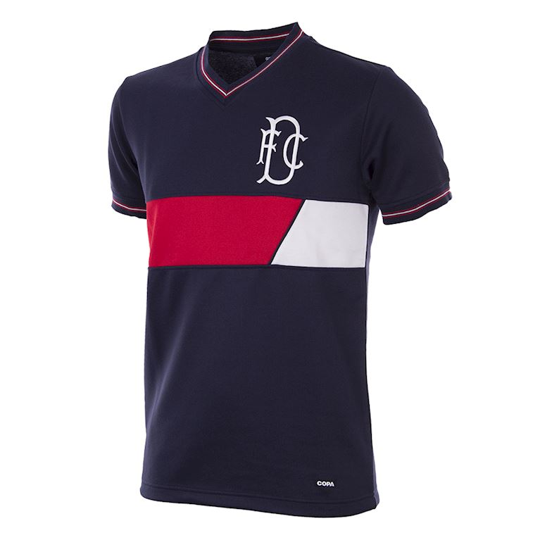 257 | Dundee FC 1986 - 87 Short Sleeve Retro Football Shirt | 1 | COPA