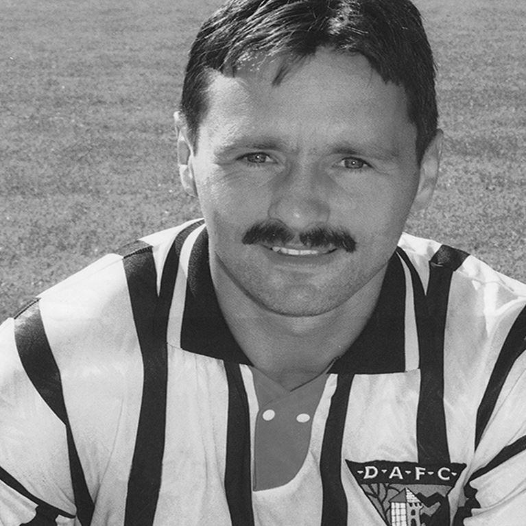 767 | Dunfermline Athletic FC 1995 / 1996 Short Sleeve Retro Football Shirt | 2 | COPA
