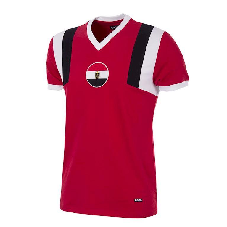 449 | Egypt 1980's Short Sleeve Retro Football Shirt | 1 | COPA