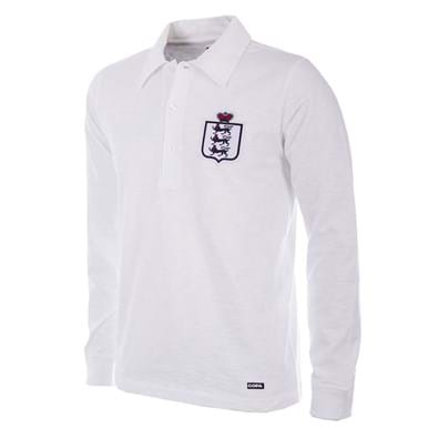 218 | England 1930 - 35 Retro Football Shirt | 1 | COPA