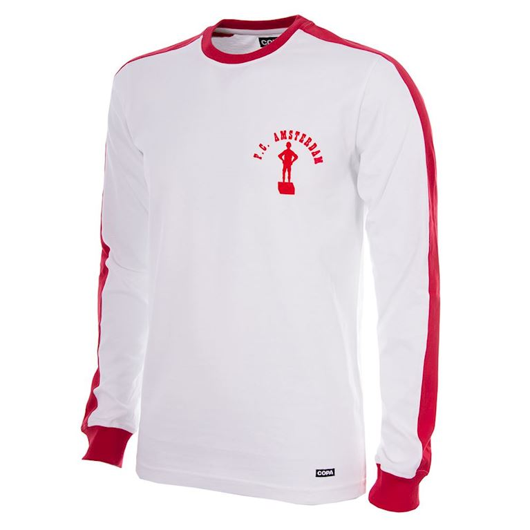 752 | F.C. Amsterdam 1976 -77 Long Sleeve Retro Shirt | 1 | COPA