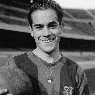 725 | FC Barcelona 1955 - 56 Retro Football Shirt | 2 | COPA