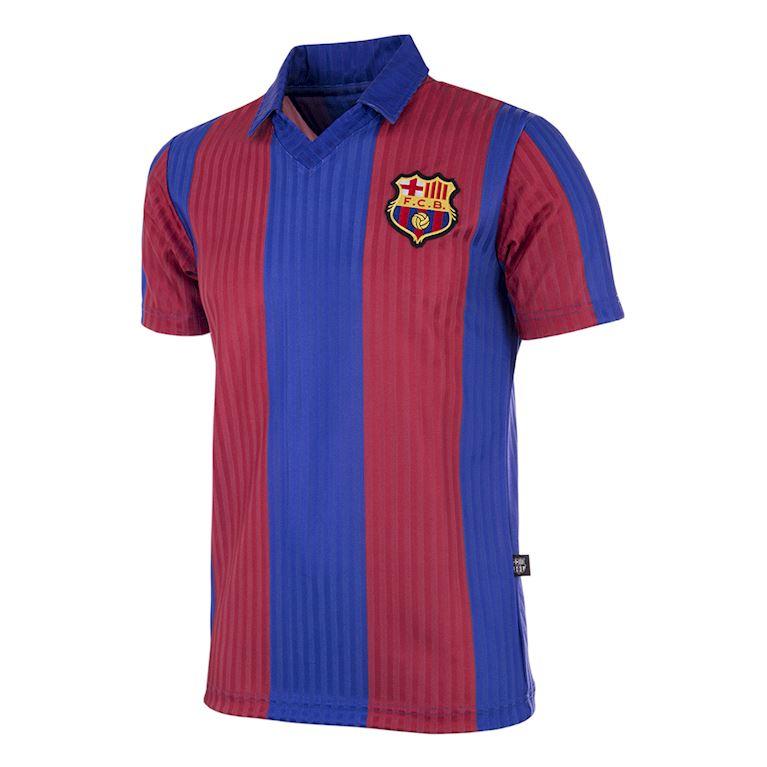 171 | FC Barcelona 1990 - 91 Maillot de Foot Rétro | 1 | COPA
