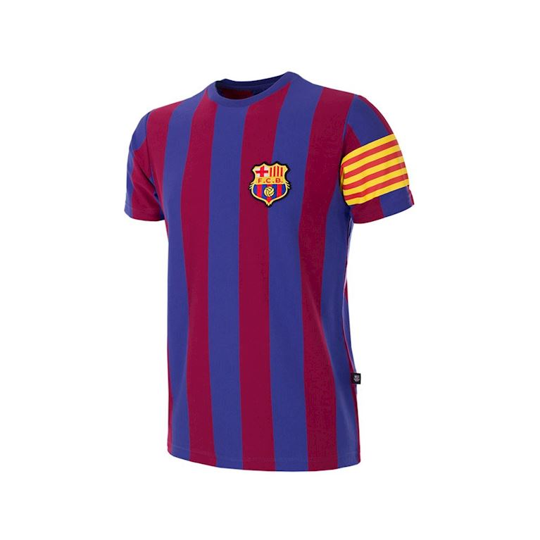 6853 | FC Barcelona Captain Retro Kinder T-Shirt | 1 | COPA